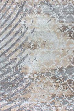 ZARA W6119 18033 Ковер из полиэстера, в современном винтажном стиле, мягкий, шелковистый. Подойдет в любую комнату.