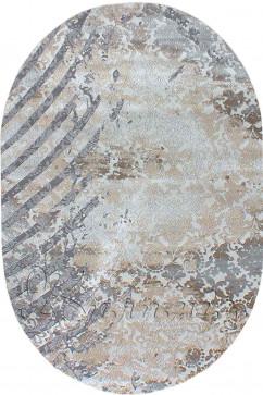ZARA W6119 18034 Ковер из полиэстера, в современном винтажном стиле, мягкий, шелковистый. Подойдет в любую комнату.