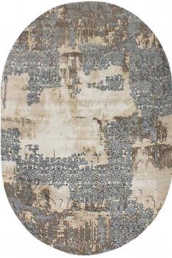 ZARA W6120 18036 Ковер из полиэстера, в современном винтажном стиле, мягкий, шелковистый. Подойдет в любую комнату.