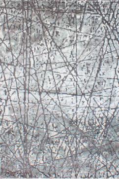 ZARA W7053 18042 Ковер из полиэстера, в современном винтажном стиле, мягкий, шелковистый. Подойдет в любую комнату.