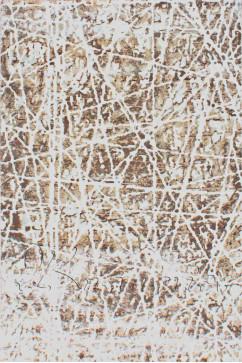 ZARA W7053 18041 Ковер из полиэстера, в современном винтажном стиле, мягкий, шелковистый. Подойдет в любую комнату.