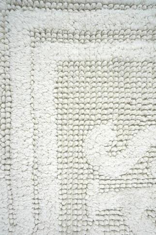 Коврик WOVEN RUG 80052 white-white