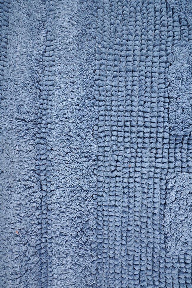Коврик WOVEN RUG 80052 blue
