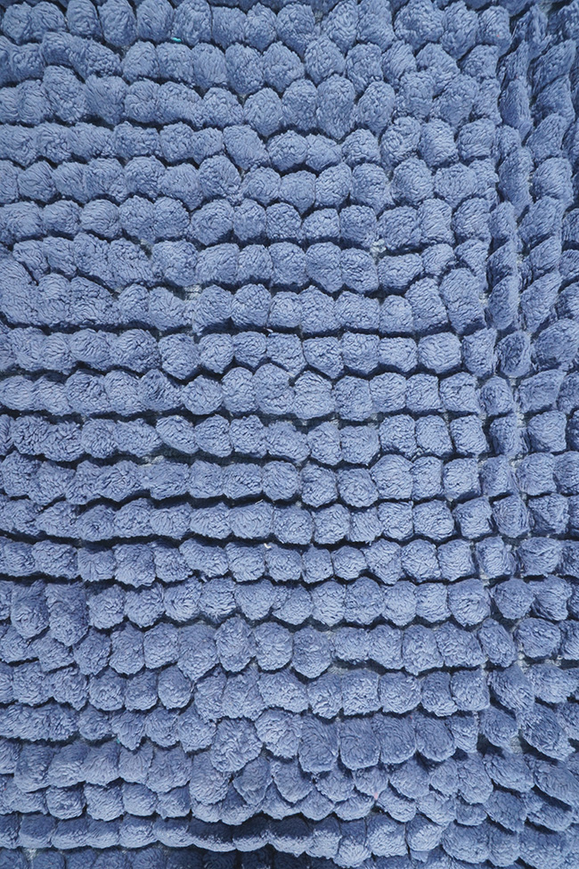 Коврик WOVEN RUG 80083 blue