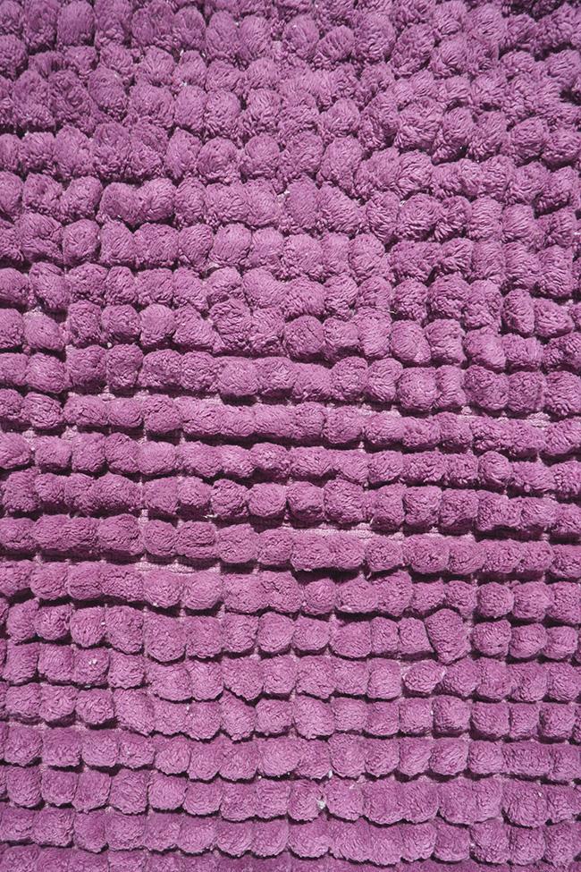 Килимок WOVEN RUG 80083 lilac