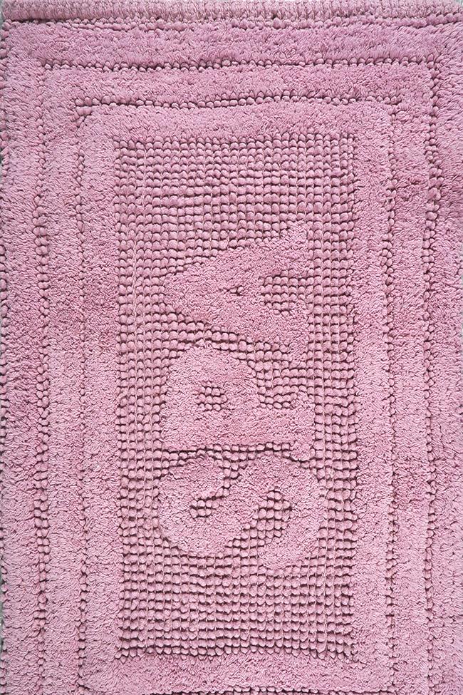 Коврик WOVEN RUG 80052 pink