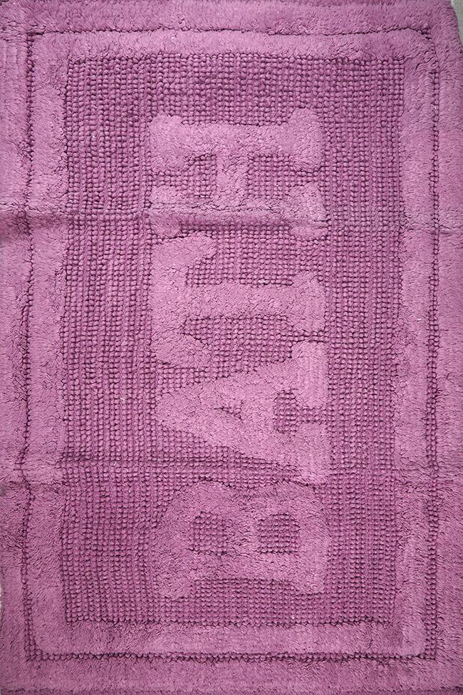 Коврик WOVEN RUG 16304 lilac-lilac