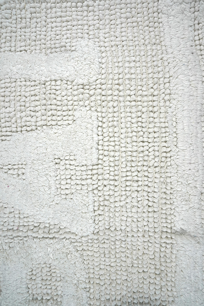 Коврик WOVEN RUG 16304 white-white