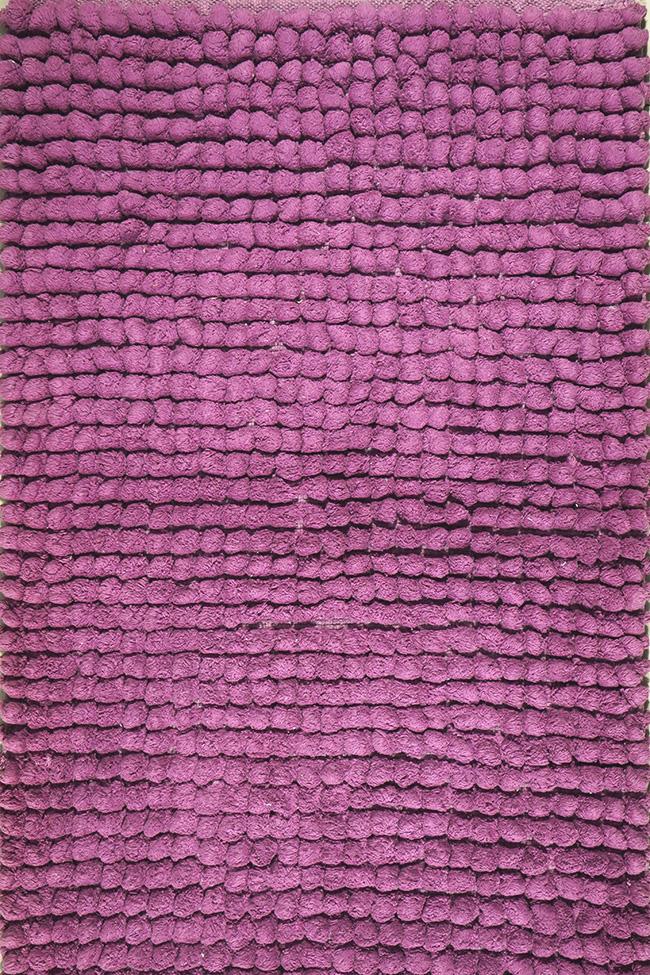 Килимок WOVEN RUG 80083 lilac-lilac