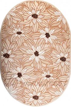 AMADA K001 5606 Мягкий рельефный ковер из акрила с полиэстром украсит вашу гостиную.