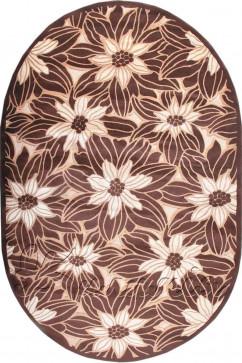 AMADA K001 5608 Мягкий рельефный ковер из акрила с полиэстром украсит вашу гостиную.