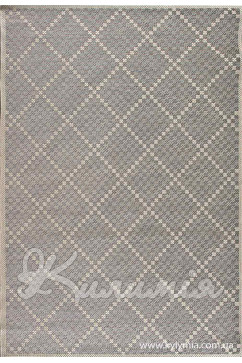 Ковер ARTISAN 4401 SAND/GREY Прямоугольник из Полипропилен производства Бельгия  в серых цветах - фото М