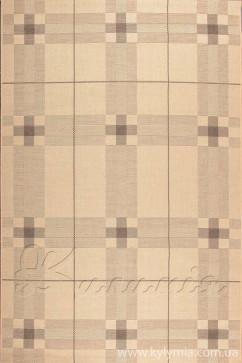 Ковер COTTAGE 1722 NATURAL/CHOCOLATE/3401 Прямоугольник из Полипропилен производства Бельгия  в бежево-кремовых, в красно-бордовых цветах - фото М