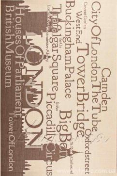 Ковер COTTAGE 4352 NATURAL/CHOCOLATE/3401 Прямоугольник из Полипропилен производства Бельгия  в коричневых цветах - фото М