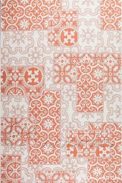 Ковер COTTAGE 5474 WOOL/TERRA/8Z01 Прямоугольник из Полипропилен производства Бельгия  в желто-оранжевых цветах - фото М