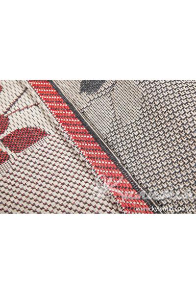 Килим LODGE 4793 sand-red-6g17