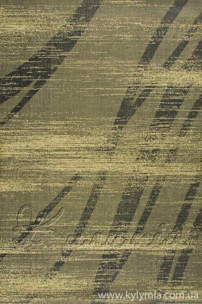 Килим VINTAGE 4628 black-bio green