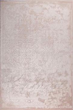 Ковер BEYAZIT 8921A BEIGE/IVORY Прямоугольник из Акрил производства Турция  в бежево-кремовых, в красно-бордовых цветах - фото М
