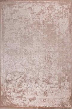 Ковер BEYAZIT 8921A IVORY/IVORY Прямоугольник из Акрил производства Турция  в бежево-кремовых, в красно-бордовых цветах - фото М