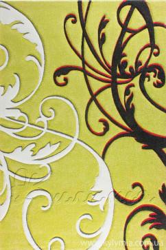 Ковер CALIFORNIA 0122 YSL Прямоугольник из Полипропилен производства Турция  в зелено-оливковых цветах - фото М