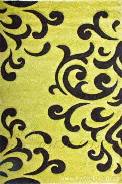 Ковер CALIFORNIA 0215 YSL Прямоугольник из Полипропилен производства Турция  в зелено-оливковых цветах - фото М