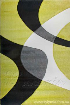Ковер CALIFORNIA 0289 YSL Прямоугольник из Полипропилен производства Турция  в зелено-оливковых цветах - фото М
