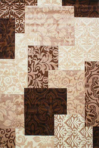 Килим DAISY CARVING 8430A ivory-brown