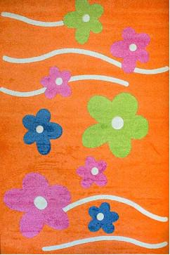 FULYA 8947A 10763 Идеальный коврик в детскую комнату с разнообразными рисунками, не вызывает аллергию.