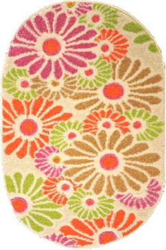FULYA 8890A 17044 Идеальный коврик в детскую комнату с разнообразными рисунками, не вызывает аллергию.