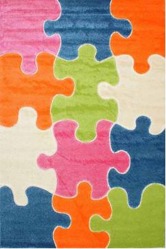 FULYA 8C10A 17046 Идеальный коврик в детскую комнату с разнообразными рисунками, не вызывает аллергию.