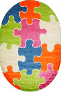 FULYA 8C10A 17047 Идеальный коврик в детскую комнату с разнообразными рисунками, не вызывает аллергию.