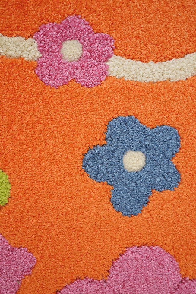 Килим FULYA 8947A orange-orange