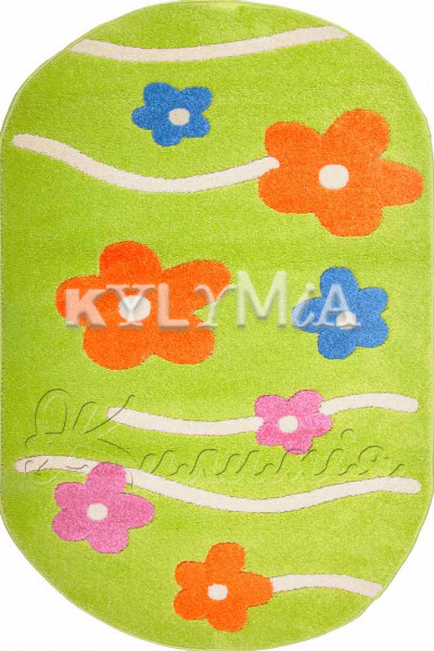 Килим FULYA 8947A green
