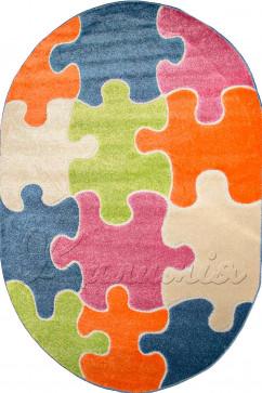 FULYA 8C10A 10106 Идеальный коврик в детскую комнату с разнообразными рисунками, не вызывает аллергию.