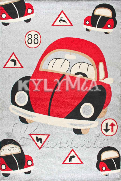Килим FULYA 8C53B grey