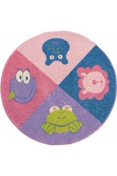 FULYA 8D69A 3728 Идеальный коврик в детскую комнату с разнообразными рисунками, не вызывает аллергию.
