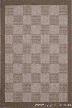 Ковер ENNEA 901 MOCHA/CREAM Прямоугольник из Полипропилен производства Греция  в коричневых цветах - фото М