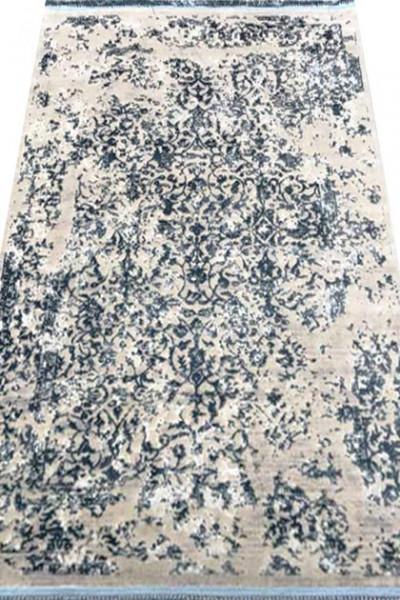 Килим MANYAS P0918 civory-blue polyester