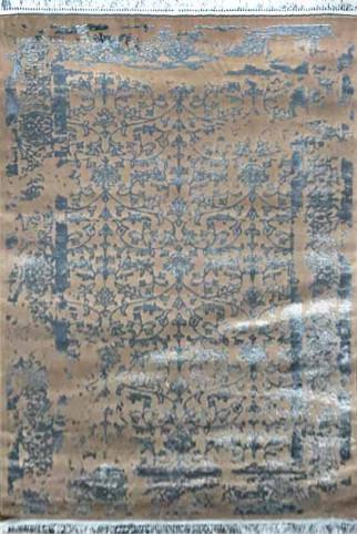 Ковер MANYAS P0920 dbeige-blue polyester