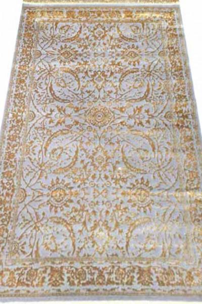 Ковер MANYAS W1699 lgrey-gold polyester