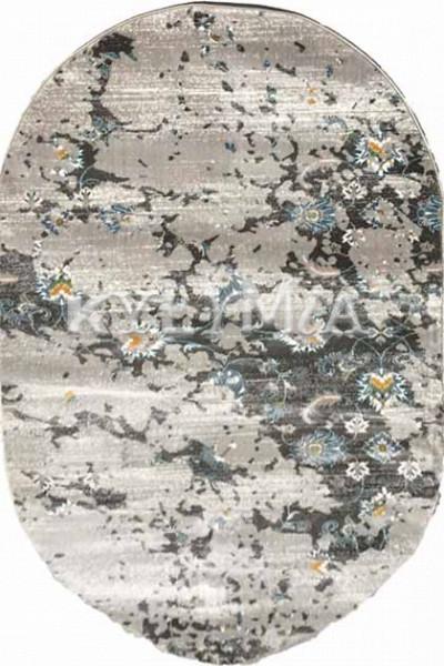 Ковер PESAN W4017 lgrey-blue