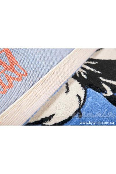 Ковер ROSE 1839A blue-blue