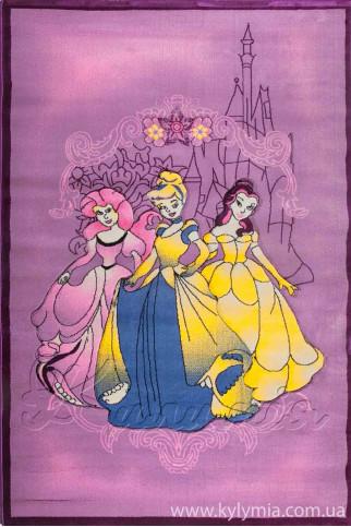 Ковер ROSE 1856A lilac-frambuaz