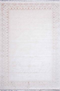 Ковер SAVOY K140B CREAM/CREAM Прямоугольник из Бамбук производства Турция  в белых, в бежево-кремовых цветах - фото М