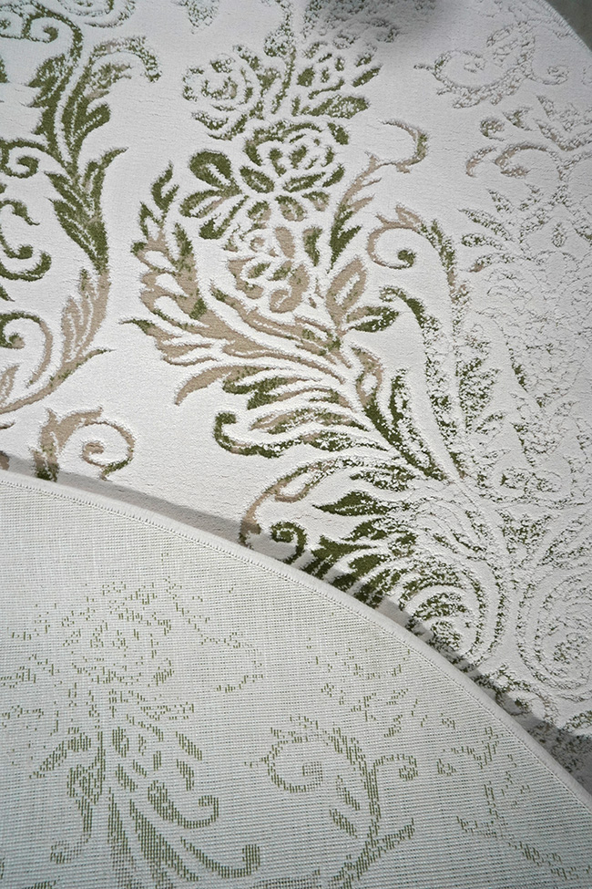 Ковер VALS W2211 ivory-chgreen