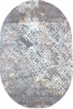 ZARA W3983 18029 Ковер из полиэстера, в современном винтажном стиле, мягкий, шелковистый. Подойдет в любую комнату.